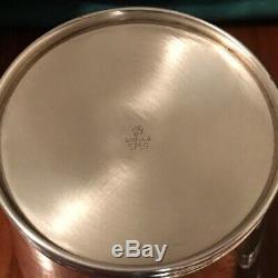 Paire De Vintage En Argent Sterling Mint Julep Coupe 3759 Par Manchester, Monogrammes Aucun