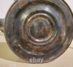 Paire De Vintage Gorham Argent Candélabres Bougeoirs 3 Bougie / Lumière 12.5 Grand