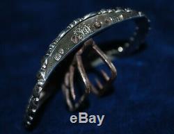 Paire Inhabituel Antique Fin Georgian Hallmark Argent Shoe Buckles Edward Farrell