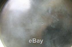 Paire Silverplate Candelabra 3 Bras Grand Vintage Couronne Chevrons Garniture Mark