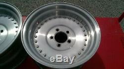 Paire Vintage Centerline 15 X 8 1/2 Ford Center Mopar Ligne Auto Wheels Drag