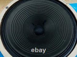 Paire Vintage D'argent/bleu 1088 Celestion Alnico Speakers Vox Ac30