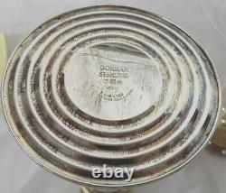 Paire Vintage De Chandeliers Pondérés En Argent Sterling Gorham 815/1