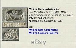 Paire Vintage De Merlan En Argent Sterling Snifter Sel Cellars New York, Avant 1926