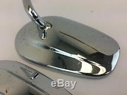 Paire Vintage De Miroirs Latéraux En Forme De Larme Harley Davidson L E11 001050