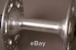 Paire Vintage De Moyeux 36h Shimano Deore Xt M700 Argent Pour Créer Des Roues De Vélo Sur Mesure