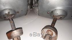 Paire Vintage De Phares Hot Rat Rod Electroline 2200 V8 1932 1933 34 Roadster