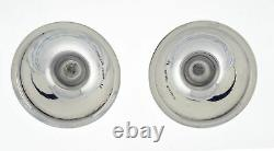 Paire Vintage De Tiffany & Co Solid Sterling Silver Candlestick Tapersticks 4.25
