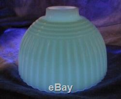 Paire Vtg 1930 Art Déco Chrome Et Cuivre Shades Withvaseline Restaurer Bras De Lumière