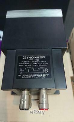 Pioneer Pt-r5 Super Ruban Tweeter Paire Utilisé Haut-parleur Japan Peu Cru Exclusif
