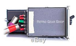 Pultec Eqh2 Programme Equalizer Rare Vintage Tube Eq Argent Paire Stéréo Eqh2