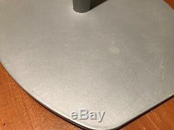 Rare Paire Vintage De Supports D'enceintes B & W Blueroom Minipod Silver