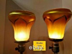 Rare Vtg Art Déco Nouveau Arts & Artisanat Ronson Lampes Nues Femmes Pair 1900-1940