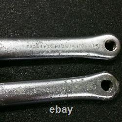 Sugino Maxy Cross 170mm Vintage Old School Bmx Old School Crank Paire Armes Seulement