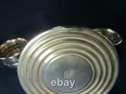 Support De Bougie Convertible En Argent Sterling Vintage Pour La Paire De Globe Hurricane