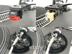 Technics Sl1200mk3 2 Turntable Paire Black Direct Player Vintage
