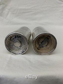 Tiffany & Co. En Argent Sterling Paire De Beaux Vintage Salt & Pepper Shaker