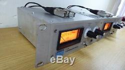 Urei La-4 Vintage Compressor Paire D'argent Face Limiteur Avec Connects Xlr Sécurisés
