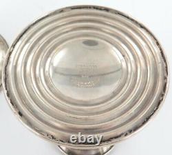 Vieille Paire D'allumettes Gorham Sterling Silver Squat Chandelles #948