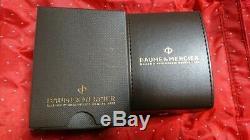 Vintage Baume & Mercier Malibu Mv045045 Montre Homme Quartz 1 De Set Paire