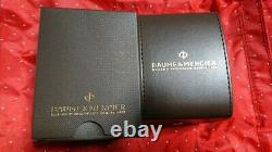 Vintage Baume & Mercier Malibu Mv045047 Ladies Quartz Montre 1 De Paire