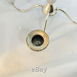 Vintage Duchin Création En Argent Sterling Pesais 4 Bras 5 Bougie Candélabres Paire