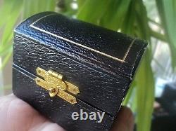 Vintage Pair De Serviette Argent Sterling / Anneaux De Serviette Anneau H/m 1913 En Box