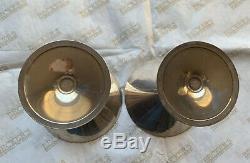 Vintage Paire De Martini Sterling Silver Cartier Lunettes # 15, Ensemble De 2