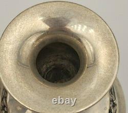 Vintage Paire De Porte-bougies Sterling Silver Par Mueck-cary #6995