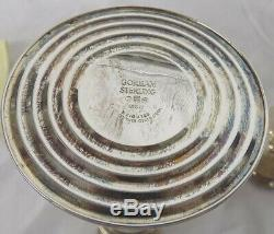 Vintage Paire De Silver Gorham Sterling Weighted Bougeoirs 815/1