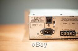 Vintage Paire Urei La-4 Compresseur Visage Argenté Limiteur