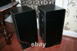 Vintage Technics Sb-cs65 3-way Loud Haut-parleurs Paire Grande Condition 120w