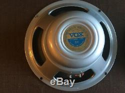 Vintage Vox / Celestion T530 12 Paires D'enceintes Argentées Dans L'exc. État