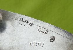 Vogt Vintage Unused Paire En Argent Massif Plates Coin Afficher Saddle Garniture